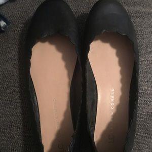 Lauren Conrad black flats size 8.5